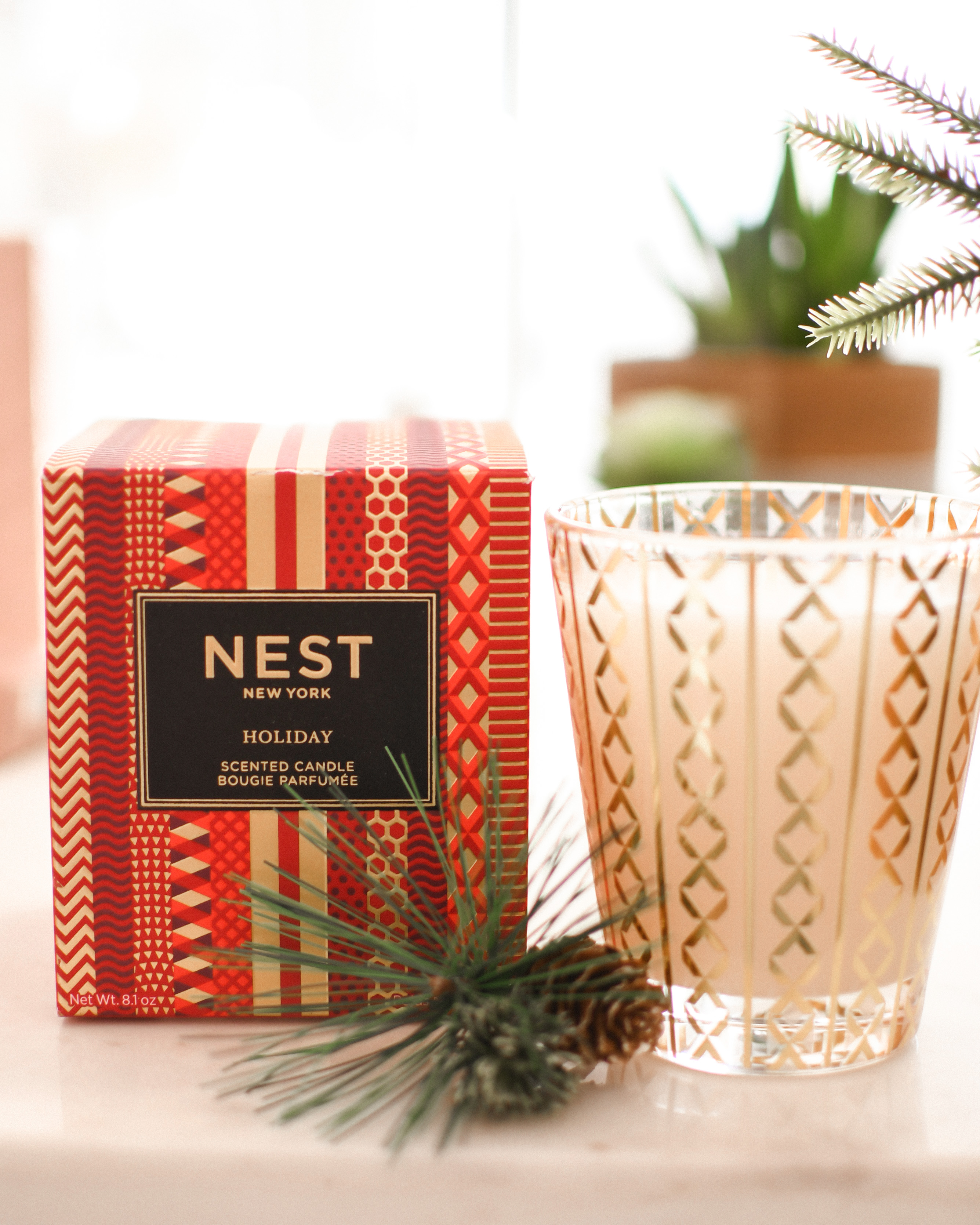 Black Friday Beauty by popular Monterey beauty blog, Haute Beauty Guide: image of a Nest candle.
