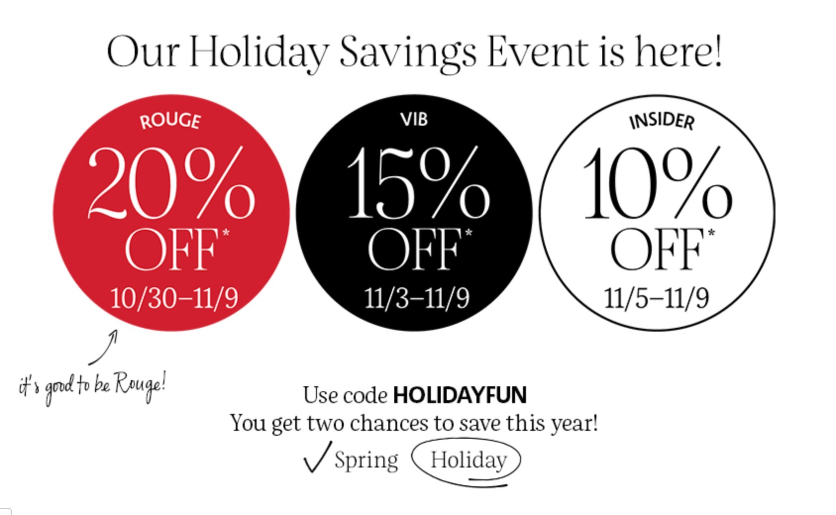 Sephora Beauty Insider Sale by popular Monterey beauty blog, Haute Beauty Guide: image of a Sephora Beauty Insider discount code.