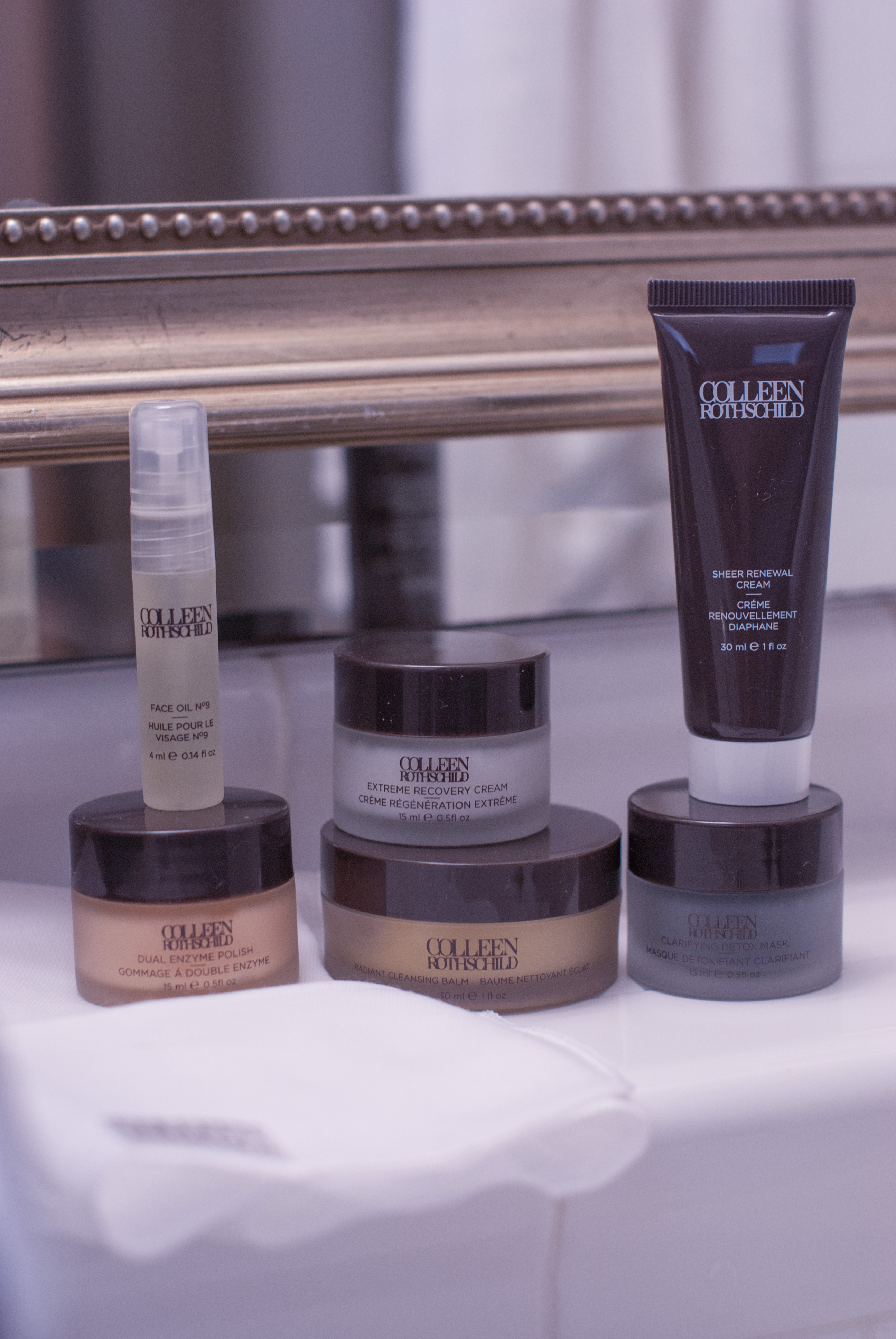 Skin Care Sales by popular Monterey beauty blog, Haute Beauty Guide: image of Colleen Rothschild beauty products.