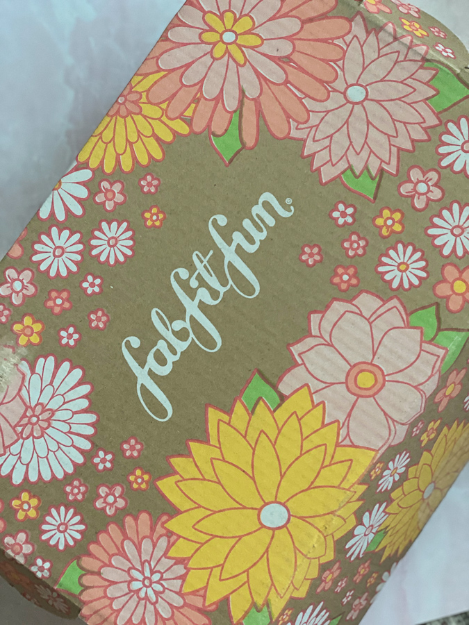 Spring FabFitFun Box by popular Monterey life and style blog, Haute Beauty Guide: image of the Spring FabFitFun box.