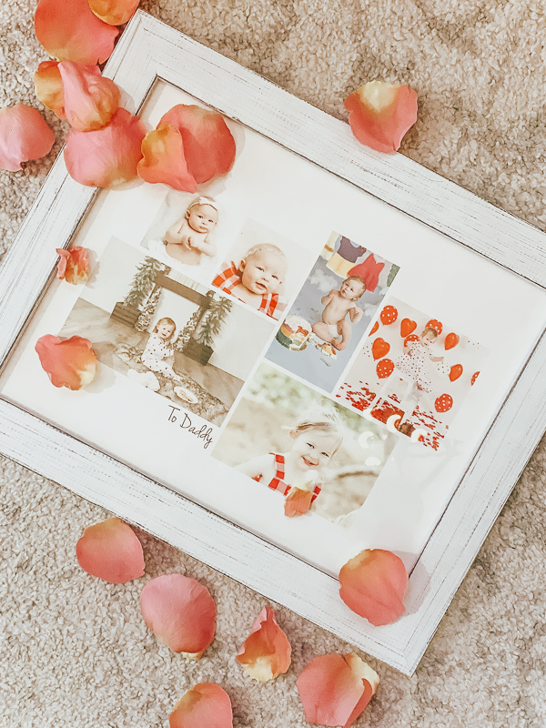 Valentine's Day Gift Ideas by popular Monterey life and style blog, Haute Beauty Guide: image of a Minted photo collage.