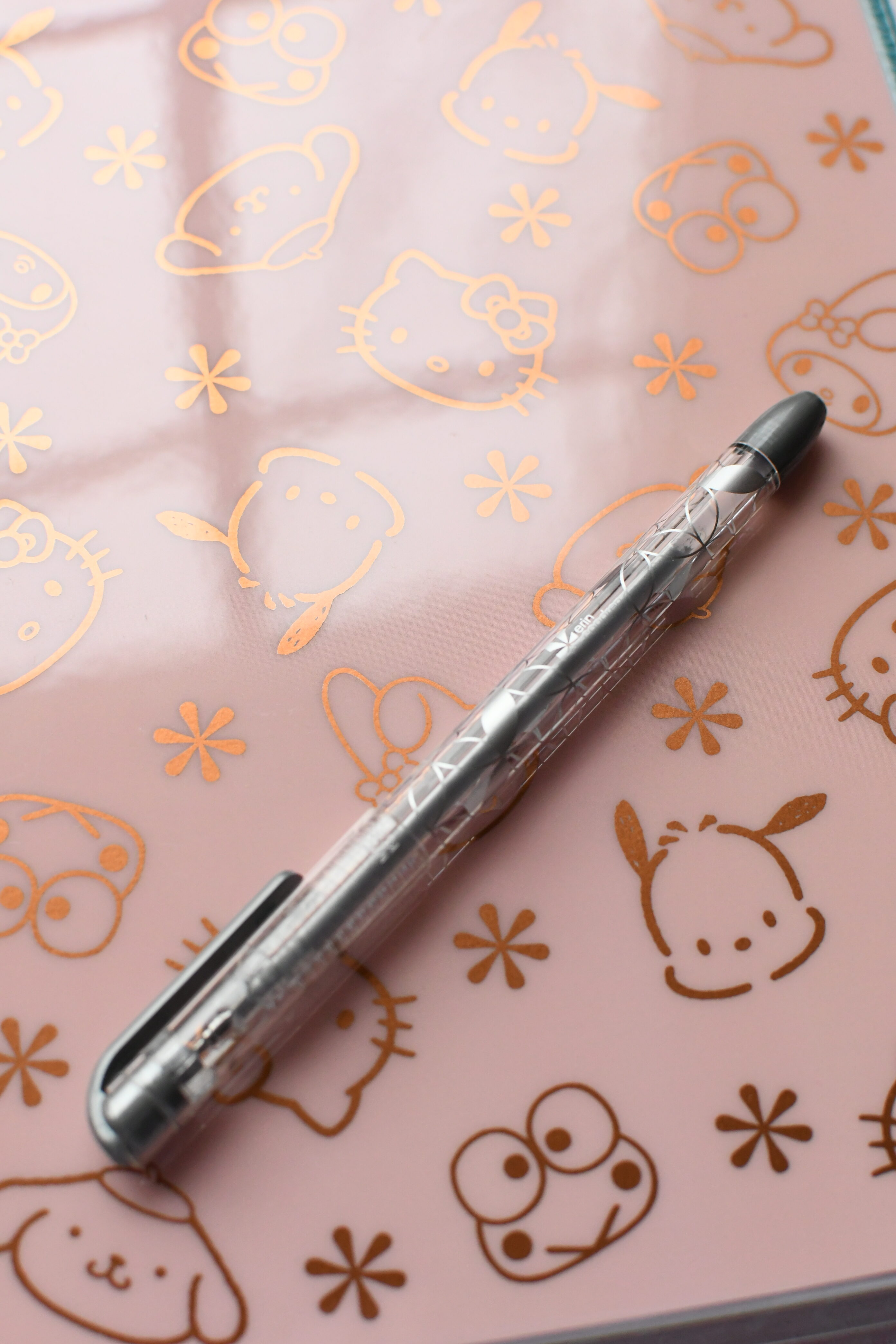 Erin Condrin Hello Kitty Collection by popular Monterey lifestyle blog, Haute Beauty Guide: image of a Hello Kitty planner.