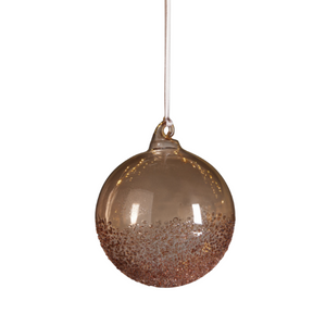 Brown Glass Ornaments